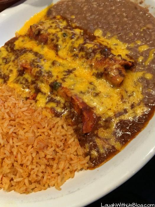 Avilas Enchilada Plate