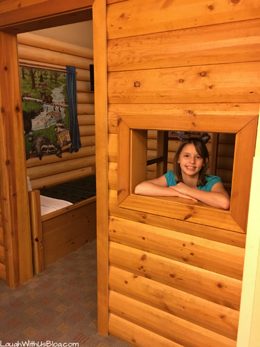 Great Wolf Lodge Kid Cabin Suite fun