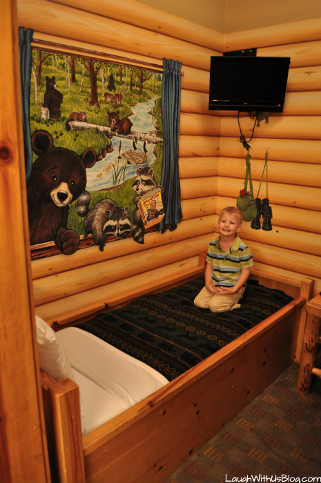 Kid Cabin Suite at Great Wolf Lodge