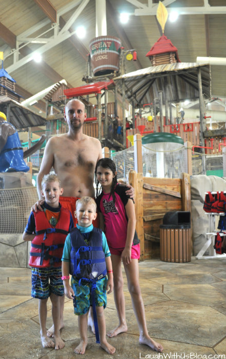 Great Wolf Lodge Water Park fun with family