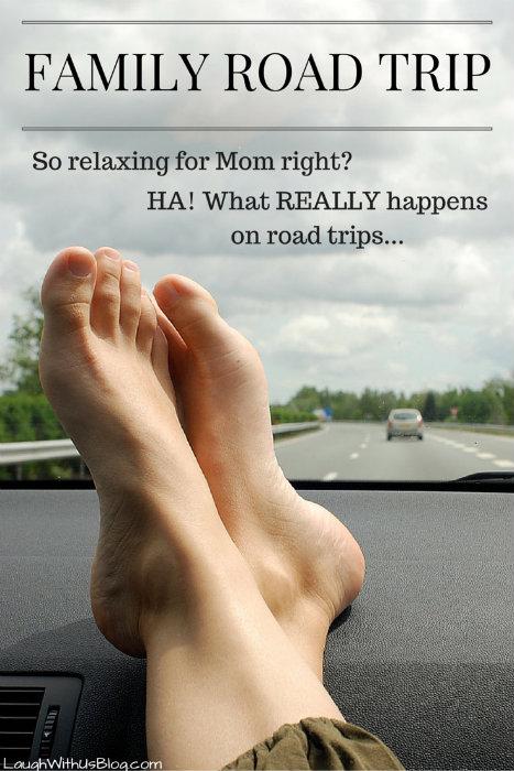 Family Road Trip Mishaps, gotta laugh!