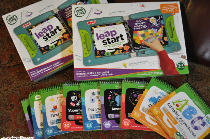 Learning with LeapStart Learning system! #LeapfrogMomSquad AD