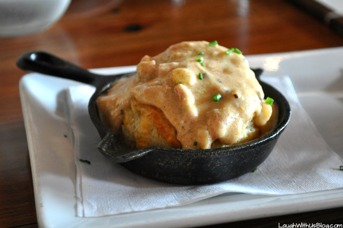 And How Is This For A Twist On Biscuits And Gravy!