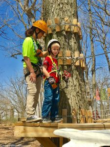 Edge Adventures Aerial Park Deep River in Northwest Indiana