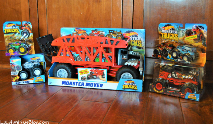 Hot Wheels Monster Trucks at Walmart