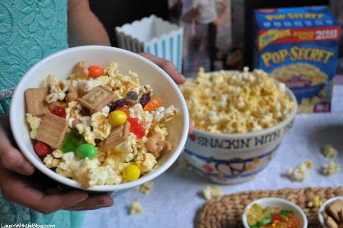 Back to School Perfect Bowl of Popcorn Pop Secret