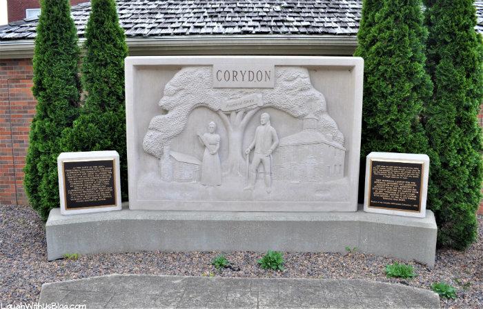 Downtown historic Corydon