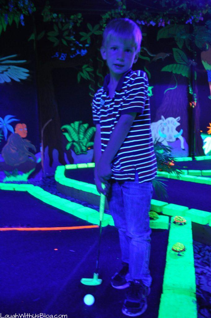 Golf Shores Fun Center Black Light