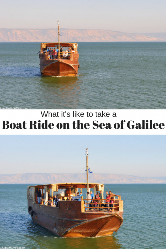 What it's like to take a boat ride on the Sea of Galilee