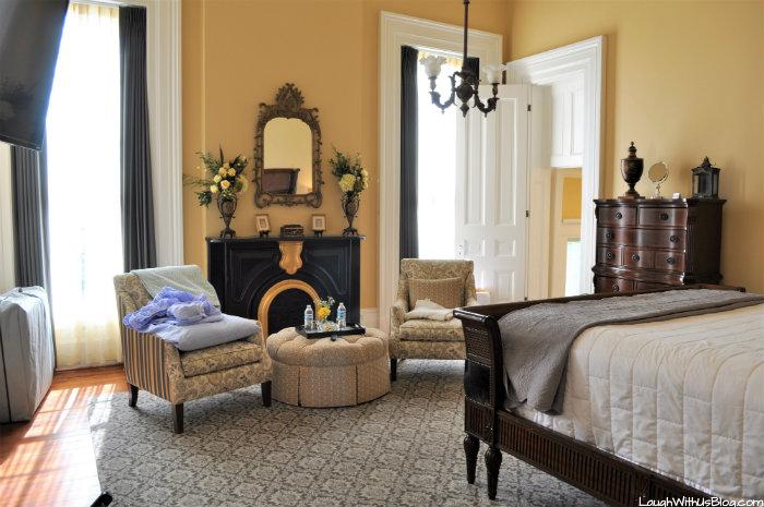 Pepin Mansion Bedroom New Albany