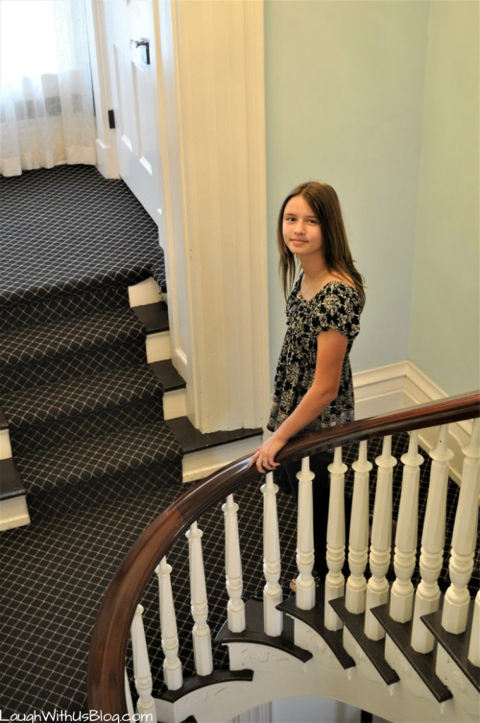 Pepin Mansion Stair way New Albany Indiana