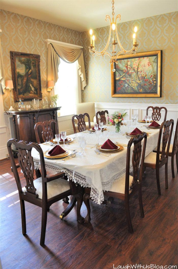 Pepin Mansion dining room SoIn