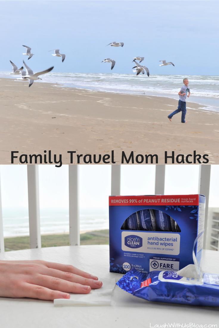 4 Family Travel Mom Hacks