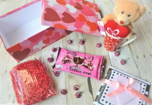Hersheys Kissses Gift Package for Valentines Day