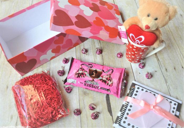 Hersheys Kissses Gift Package for Girls Valentine's Day Gifts