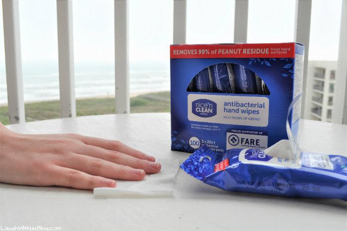 Nice N Clean Antibacterial Hand Wipes