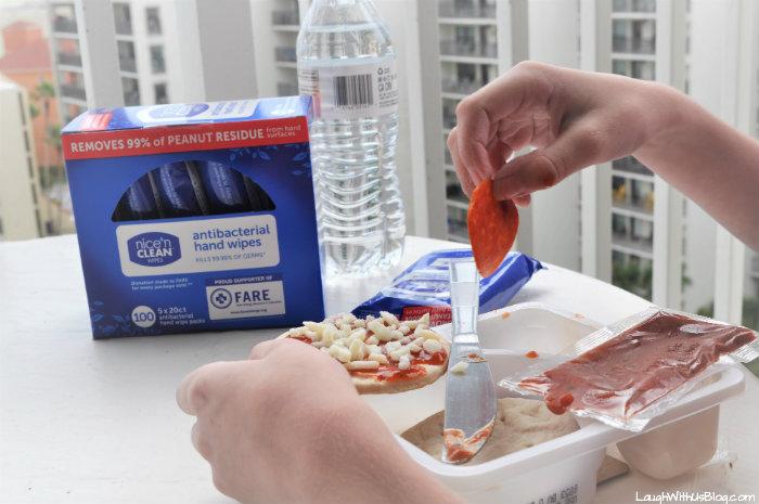 Nice N Clean Antibacterial Hand Wipes from Walmart