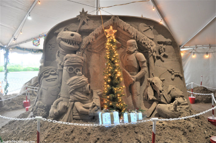 South Padre Holiday Sand Castle Village Minions Star Wars