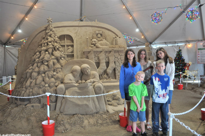 South Padre Holiday Sand Castle Village family travel