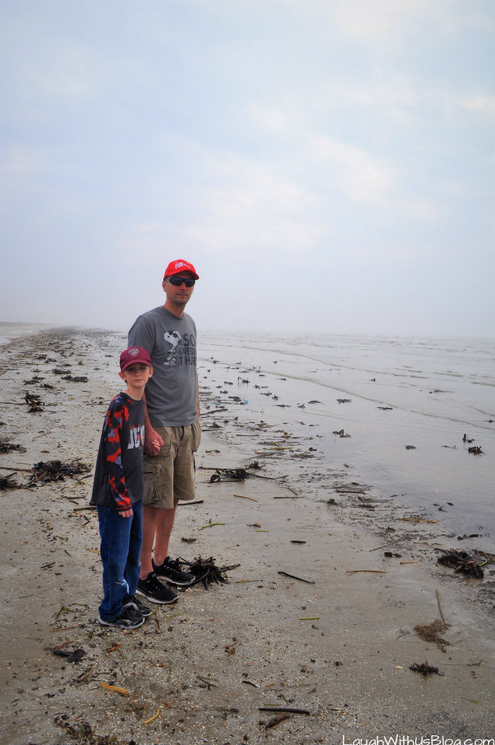 Sea Rim State Park Beach