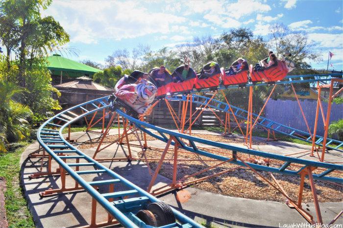 Zoo Tampa at Lowry Park Tasmanian Tiger Coaster
