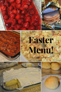Easter menue with recipes