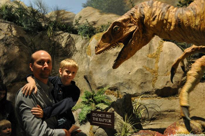 Creation Museum robotic dinosaur