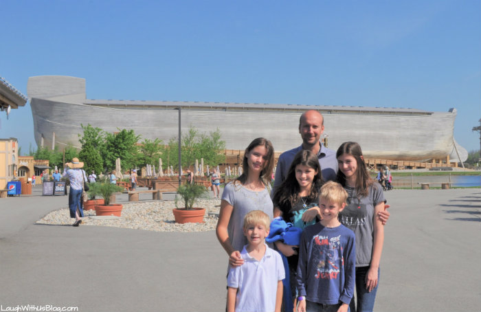 Ark Encounter family trip