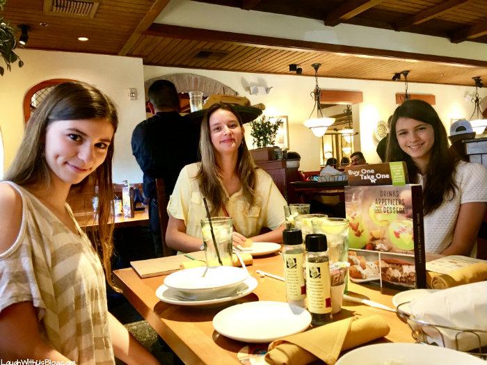 Faith Birthday Olive Garden