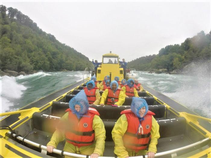 Niagara Falls USA Jet Boat Tours River experience