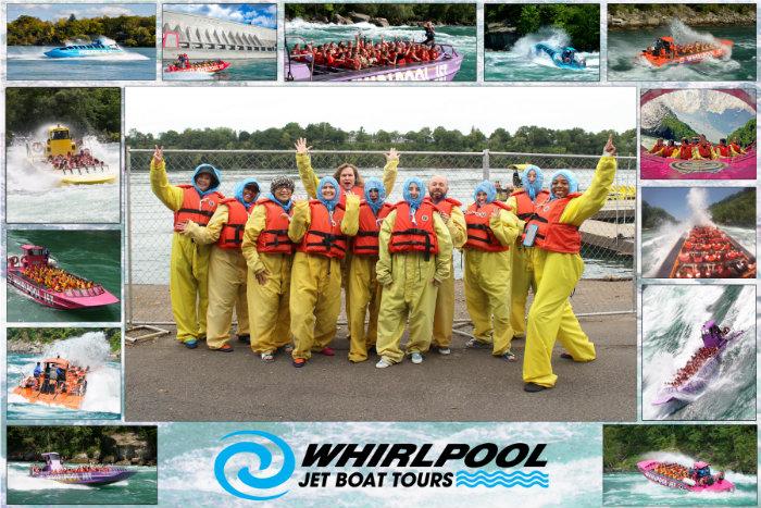 Niagara Falls USA Whirlpool Jet Boat Tours