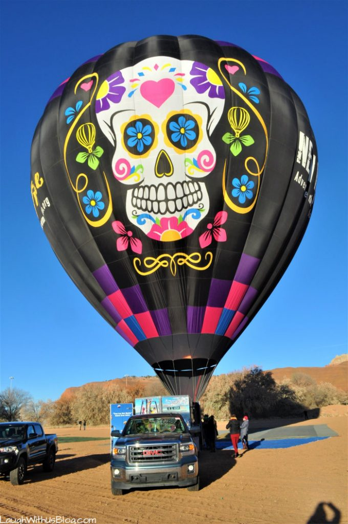 Gallup Hot Air Balloon Ready to Ride