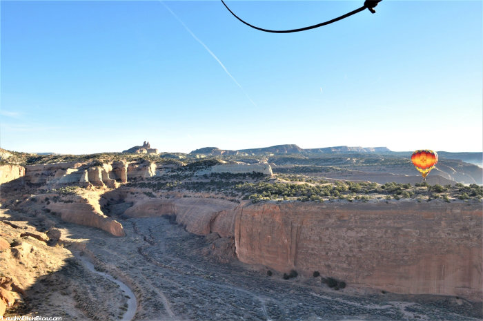 Gallup Hot Air Balloon Rides at Church Rock