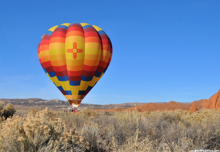 Gallup Hot Air Balloon Rides from Church Rock