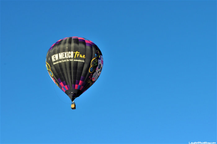 Gallup New Mexico True hot air balloon