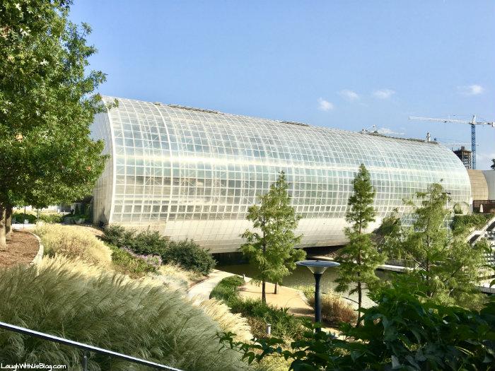 Oklahoma City Myriad Gardens Crystal Bridge
