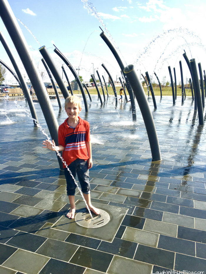 Oklahoma City Scissortail Park Fountains