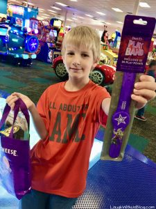 Chuck E Cheese New Play Bands with points or ALL YOU CAN PLAY