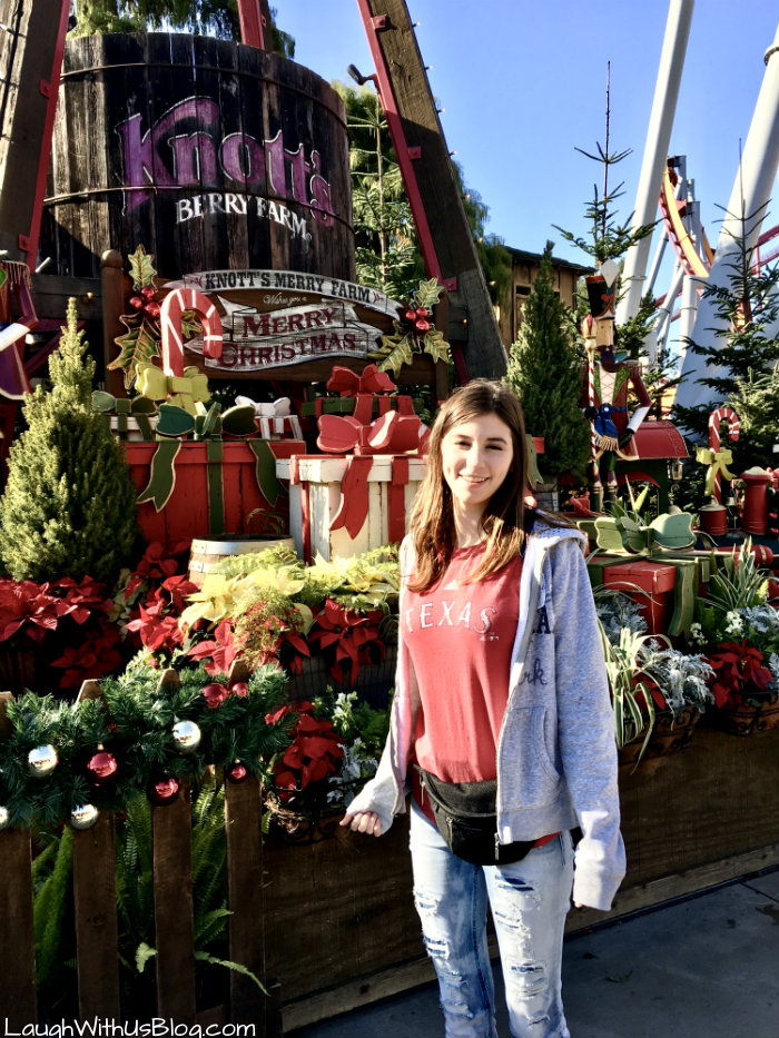 Knott's Berry Farm Theme Park at Merry Christmas