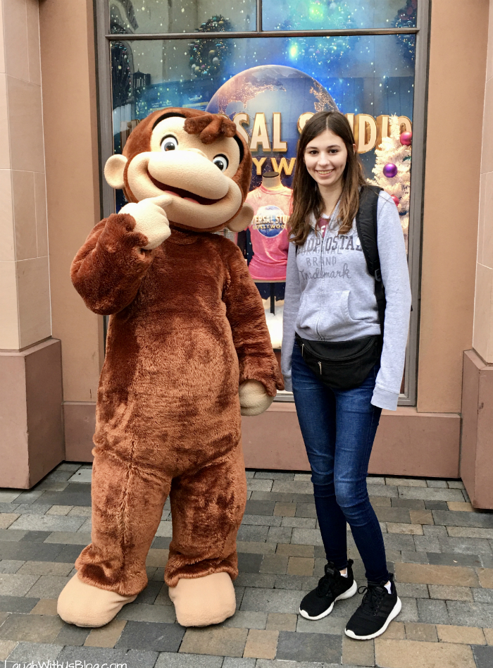 Curious George at Universal Studios Hollywood