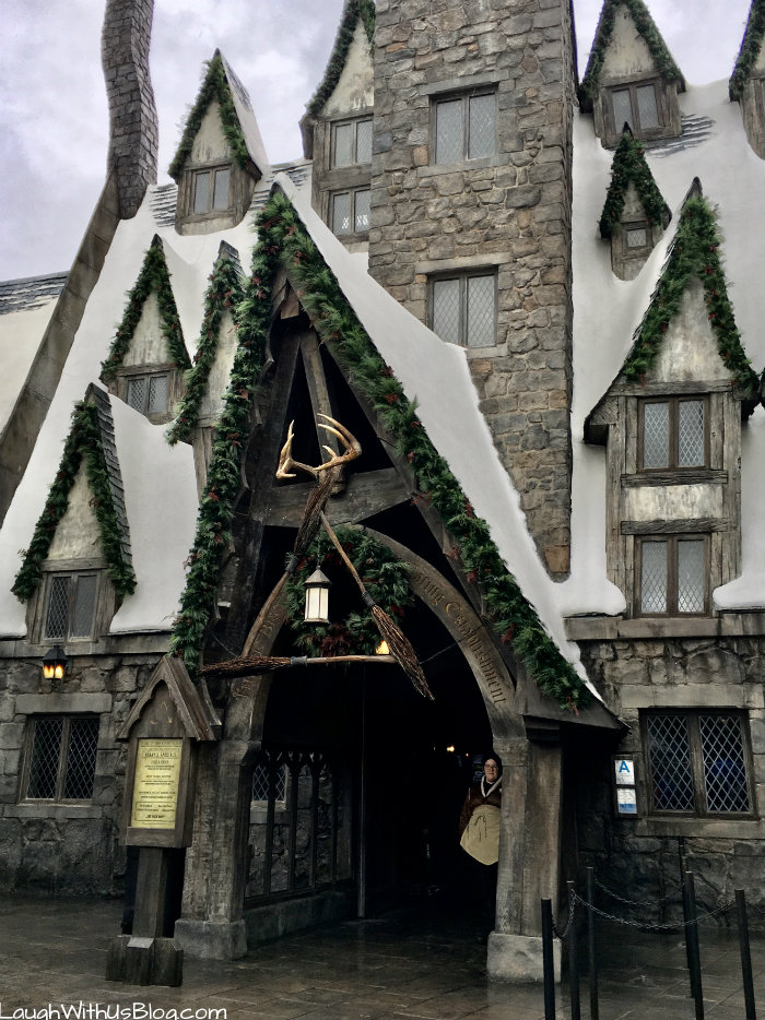 Three Broomsticks Wizarding World of Harry Potter Uni Studios Hollywood