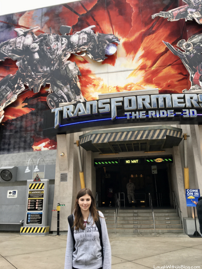Transformers the Ride 3D Universal Studios Hollywood