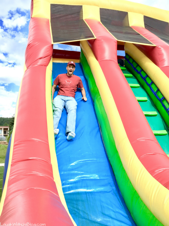 Family Camp Bounce House