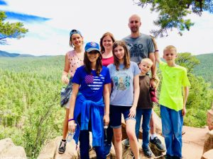 Family Hike Glorieta New Mexico