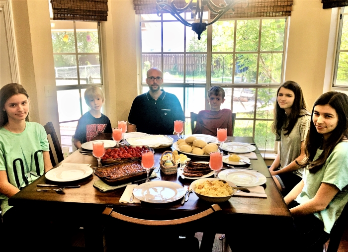Family Easter Meal