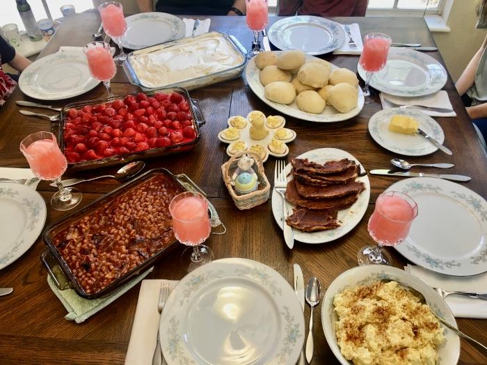 Family Easter Menu