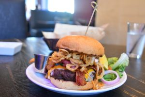 Chef's Signature Angry Cheeseburger Angry Cactus San Angelo