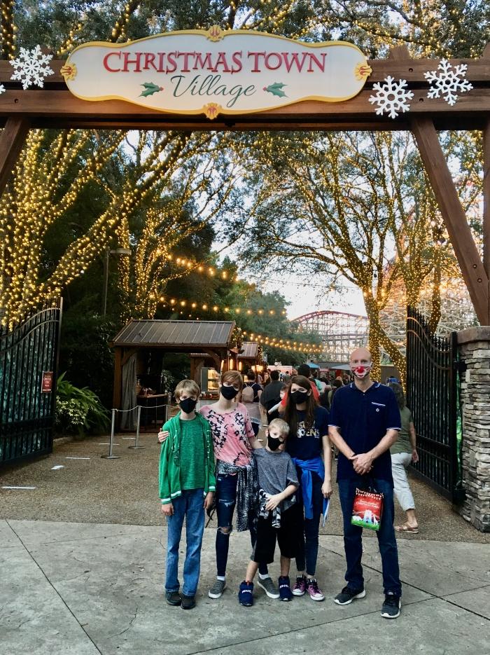 Busch Gardens Christmas Town Villag