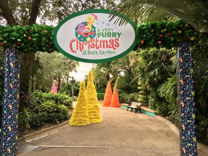 Busch Gardens Very Furry Christmas